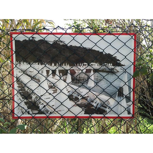 Beach Club AdVenture (1/3)#beachclub #heybeliada #fence #repro #oldphoto #failedadvertisement #failedadventure #adventure
