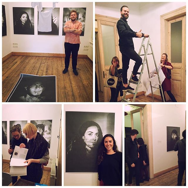 "It's been an awesome and talkative opening of my pop-up exhibition ""RADEBRECHT"" on @maviblaucom lyric night at @supaistanbul Thank you very much for the opportunity and my helping hand @bernalotte #Radebrecht #lyricnight #supasalon #exhibitionopening #exhibition #photoexhibition #portraitphotography #largeformat"