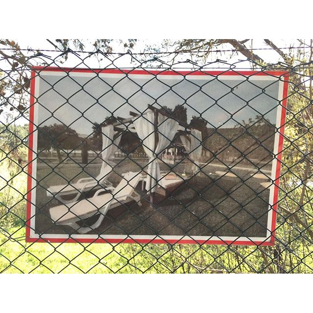 Beach Club AdVenture (3/3)#beachclub #heybeliada #fence #repro #oldphoto #failedadvertisement #failedadventure #adventure