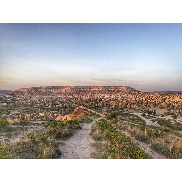 Sunset mood#cappadoccia #ürgüp #travelturkey #travel #turkey #discoverturkey