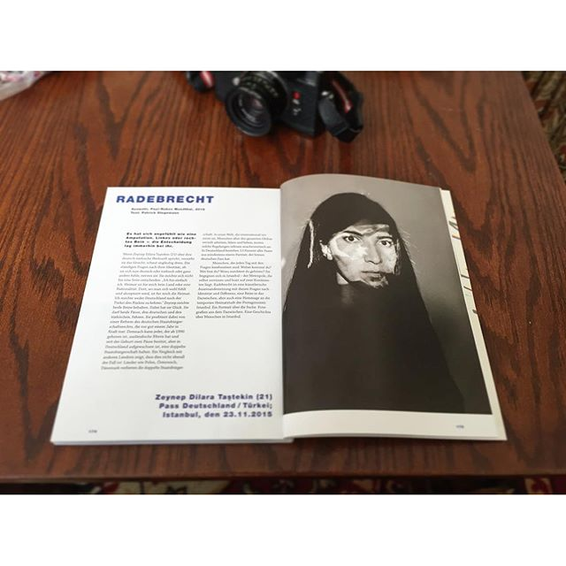 "Sneak peek: my series ""RADEBRECHT"" got featured in the 7th Issue of @hantmagazin #Radebrecht #hantmagazin #hant07 #analogphotography #bwphotography #bondforlife"