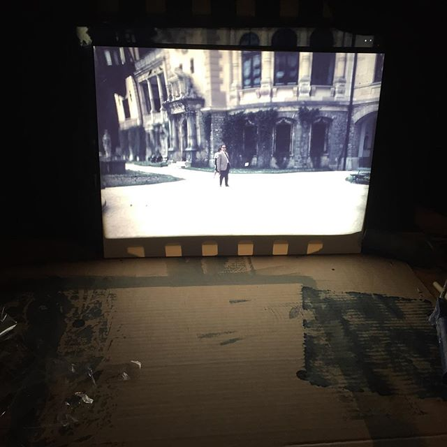 Projection#diaprojektor #dia #postive #darkroom