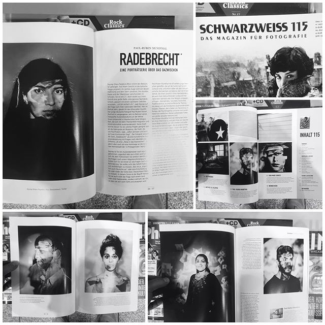 "The German magazine ""SCHWARZWEISS"" published my series ""RADEBRECHT"" in their 115th Issue. Now available in every kiosk / train stations. #bossmove #schwarzweiss #schwarzweissmagazin #printisnotdead"
